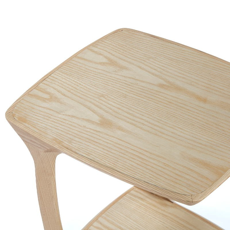 Bedside Table 50X43X59 Wood Natural - image 51822