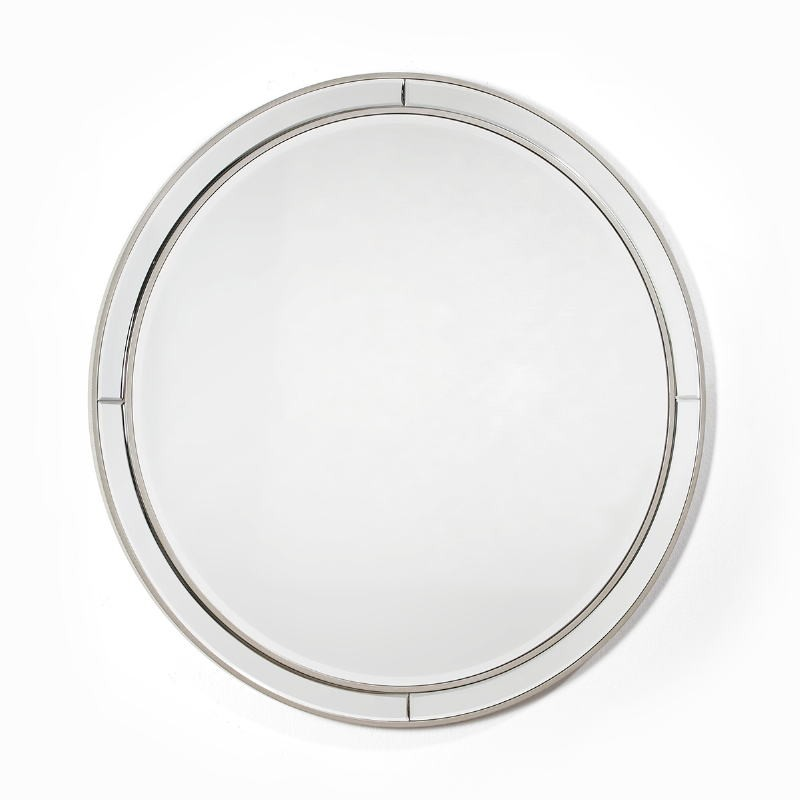 Specchio 90X4X90 Vetro Mdf Argento