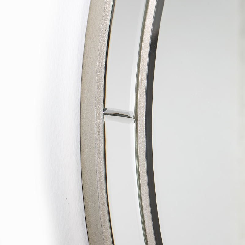 Mirror 90X4X90 Glass Mdf Silver - image 51860