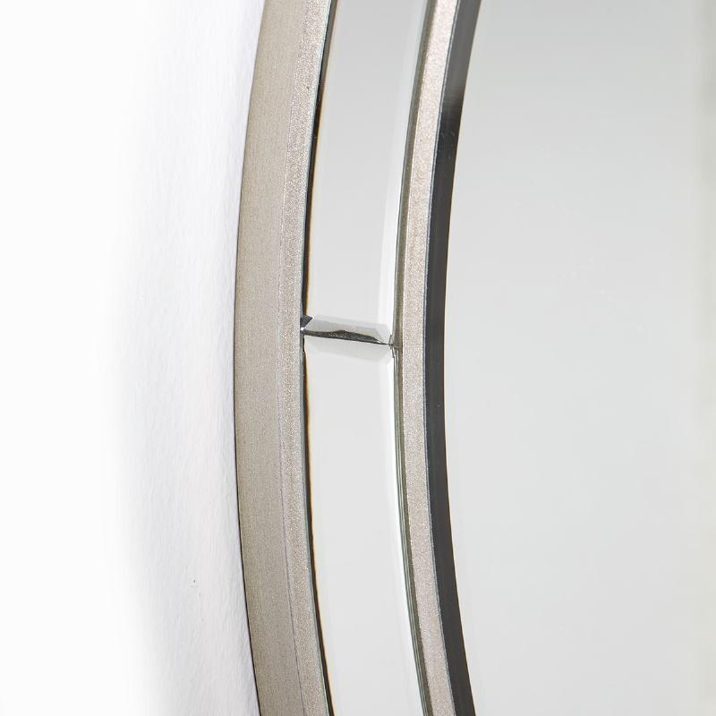 Spiegel 90X4X90 Glas/Mdf Silber - image 51860