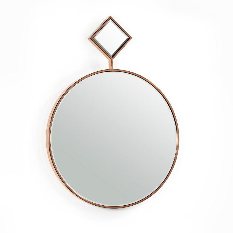 Mirror 65X4X90 Glass Metal Golden