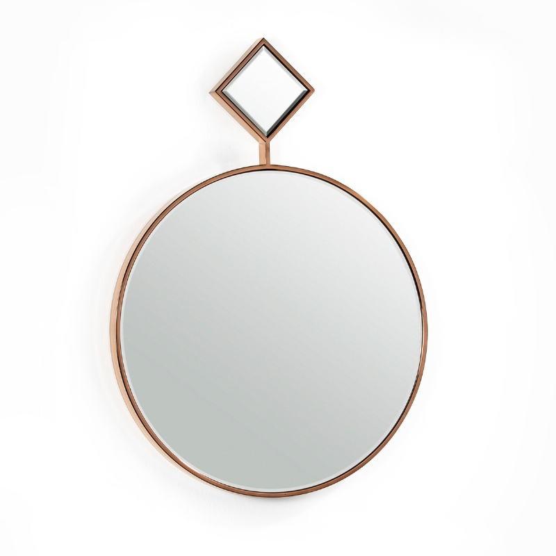 Spiegel 65X4X90 Glas / Metall Golden