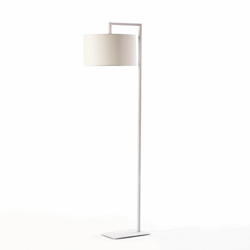 Lampada A Stelo Senza Paralume 20X35X170 Metallo Bianco - image 51958