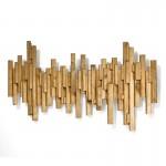 Sculpture 160X8X80 Wood Golden