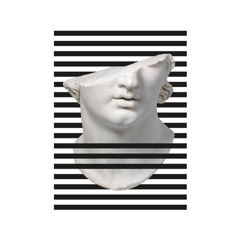Tableau 60x3x80 Méthacrylate Blanc Noir