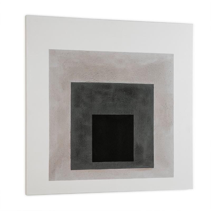 Toile 120x4x120 Blanc Noir - image 52319