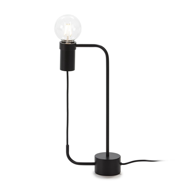 Table Lamp 18X8X40 Metal Black