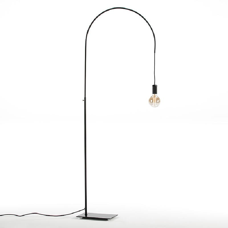 Lampada A Stelo 71X20X175 Metallo Nero - image 52417