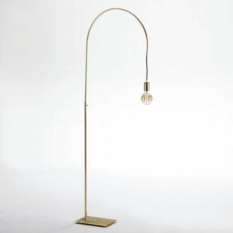 Lampada A Stelo 71X20X175 Metallo Dorato - image 52419