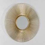 Espejo 81X2 Metal Dorado