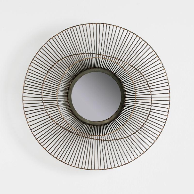 Specchio 58X10 Metallo Dorato - image 52433