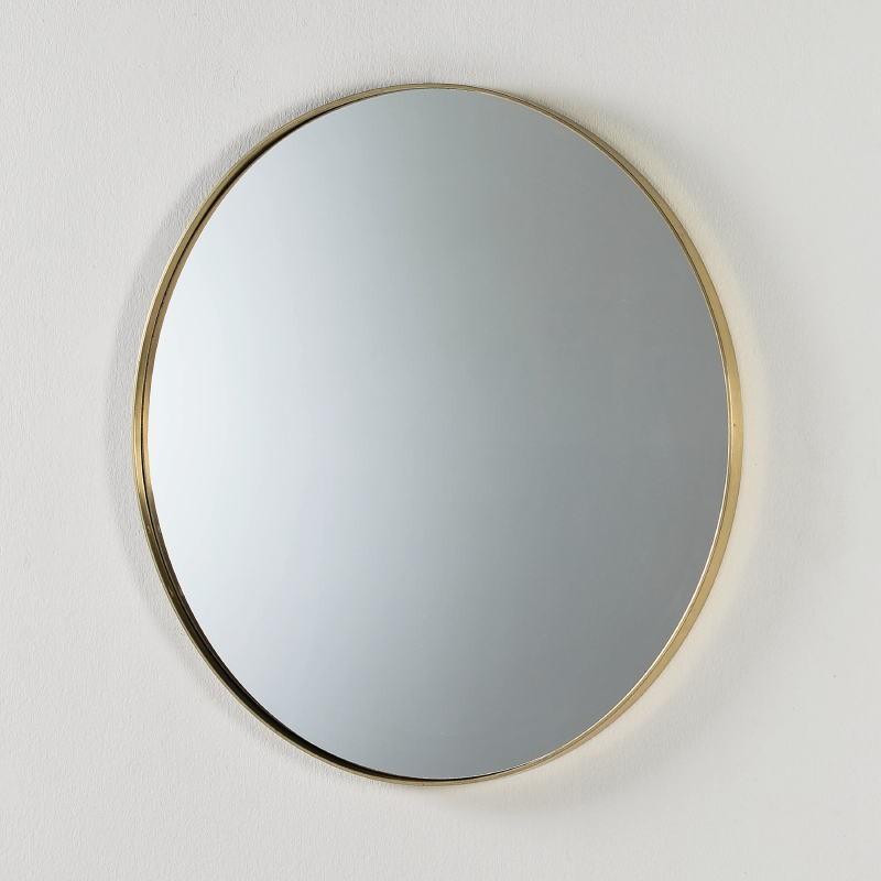 Miroir 80x5 Métal Doré - image 52470