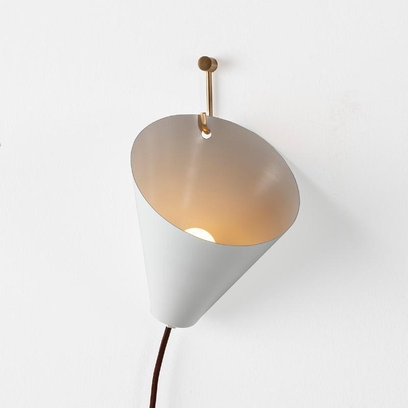 Wandlampen 18X17X19 Metall Weiß