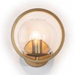 Wandlampen 21X23X22 Glas / Metall Golden