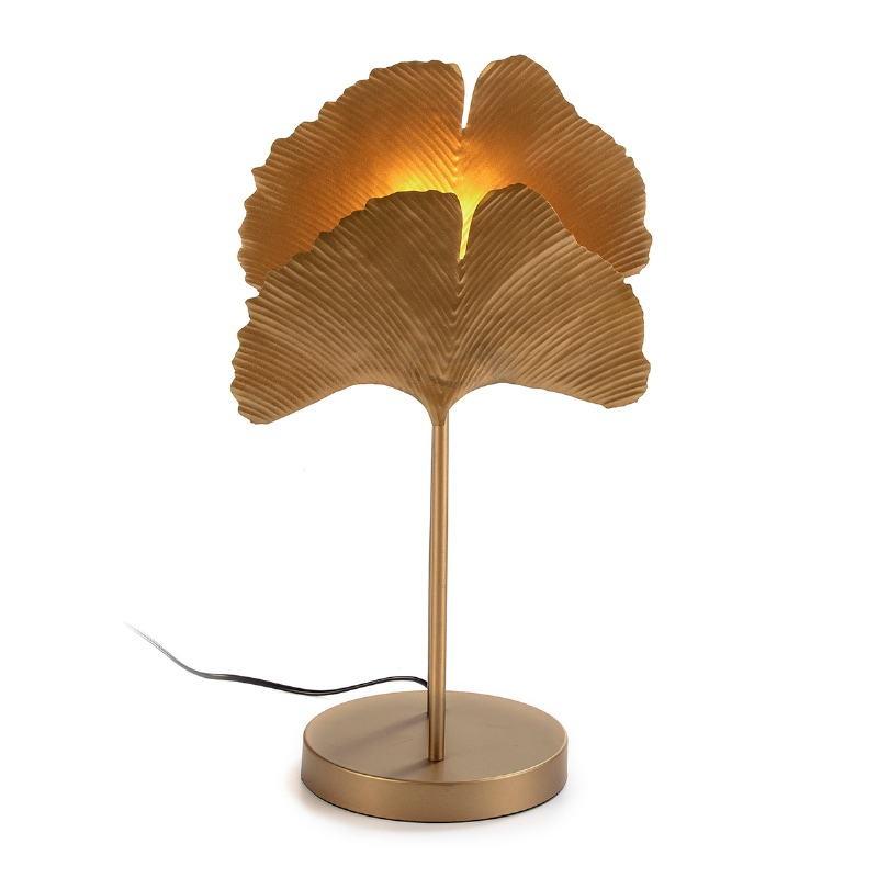 Table Lamp 30X20X58 Metal Golden - image 52666