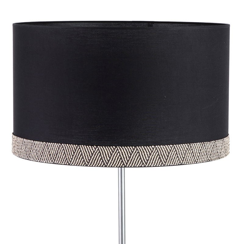 Lampshade 50X50X30 Cotton Black White - image 52794