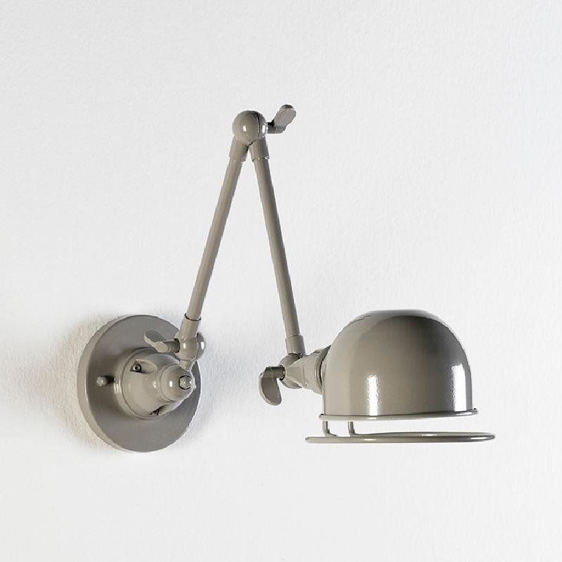 Wall Lamp 14X70X27 Metal Grey