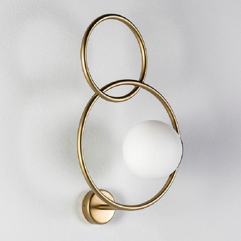Übernehmen 33X18X55 Glas / Metall Golden