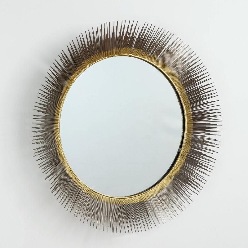 Specchio 81X7 Vetro Metallo Argento Oro - image 52975