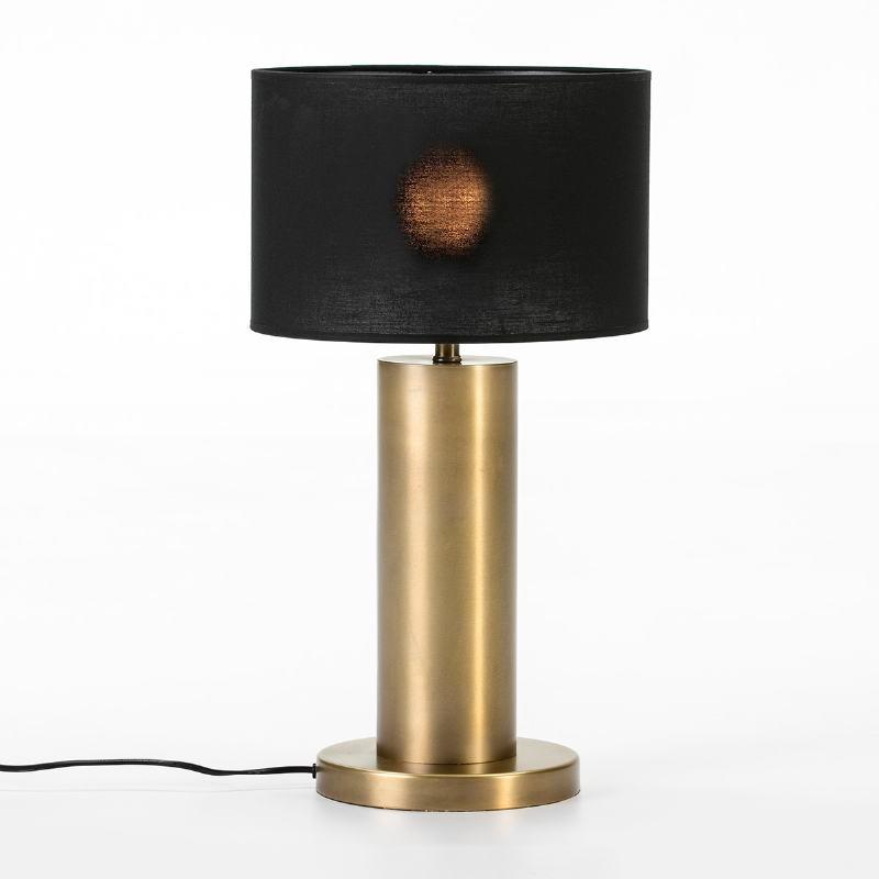Lampe de Table sans abat-jour 20x20x40 Métal Doré