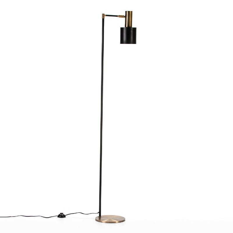 Standard Lamp 29X24X163 Metal Golden Black