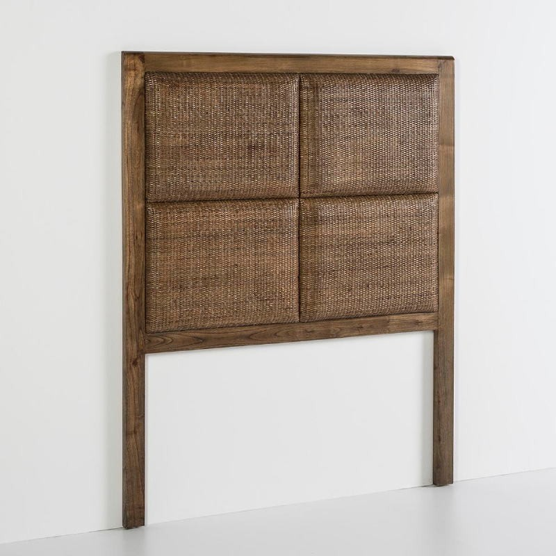 Headboard 110X9X137 Wood Natural Veiled - image 53109