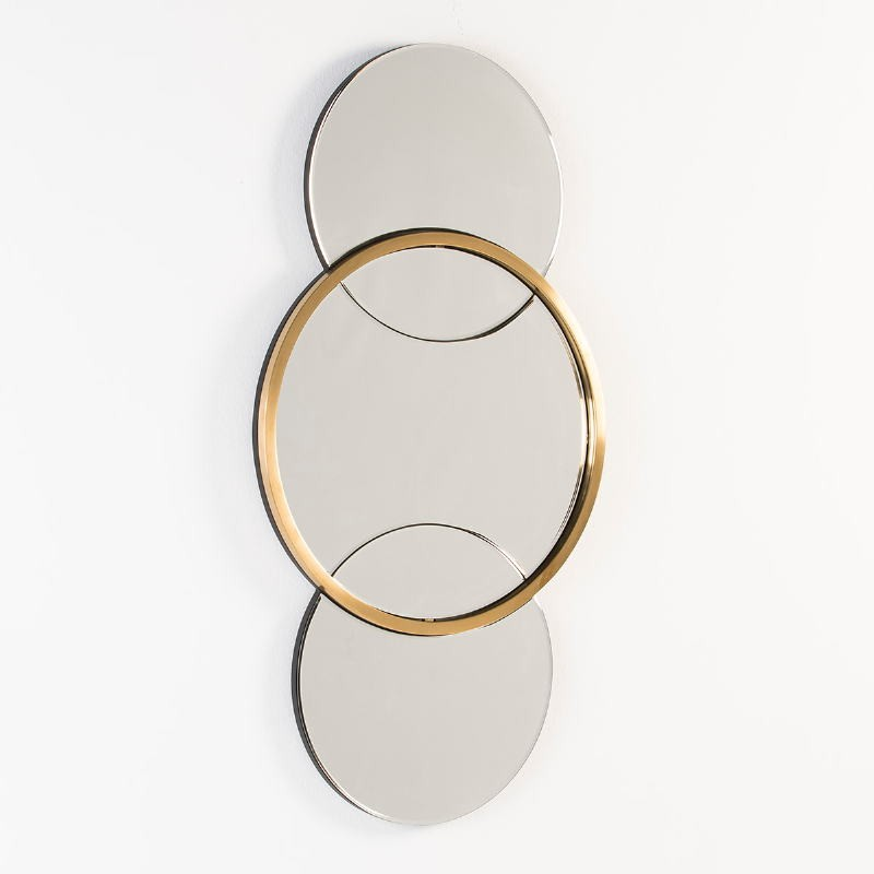 Specchio 60X4X117 Vetro Metallo Dorato - image 53114