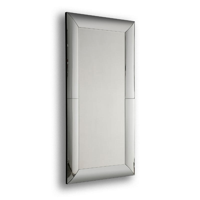 Espejo 101X5X201 Cristal Dm Negro