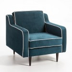 Sessel 86X91X88 Stoff Blau Modell 2