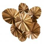 Skulptur 100X35X110 Metall Golden