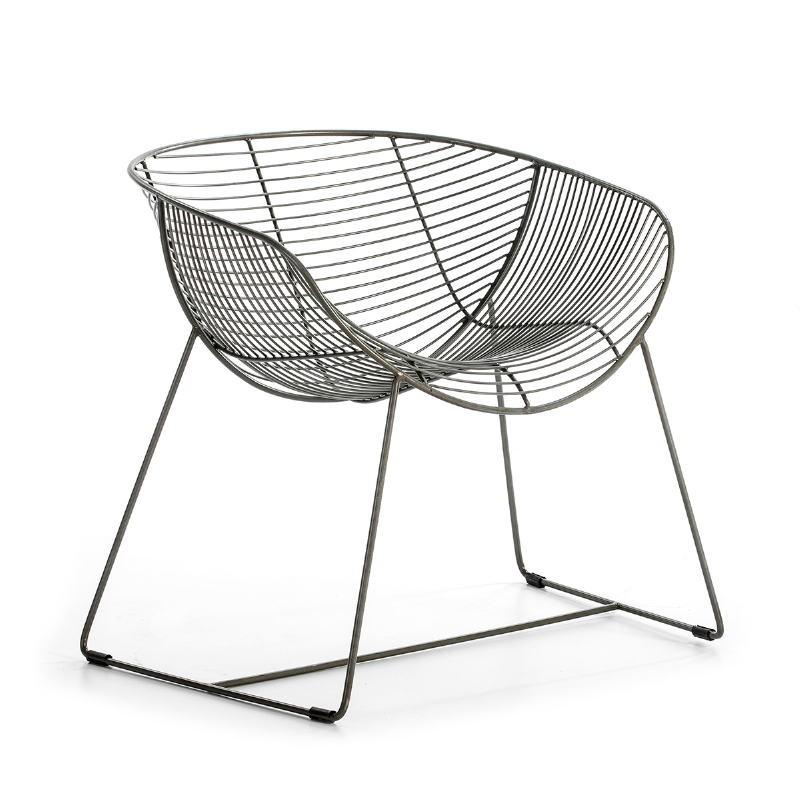 Chair 79X65X73 Metal Zinc