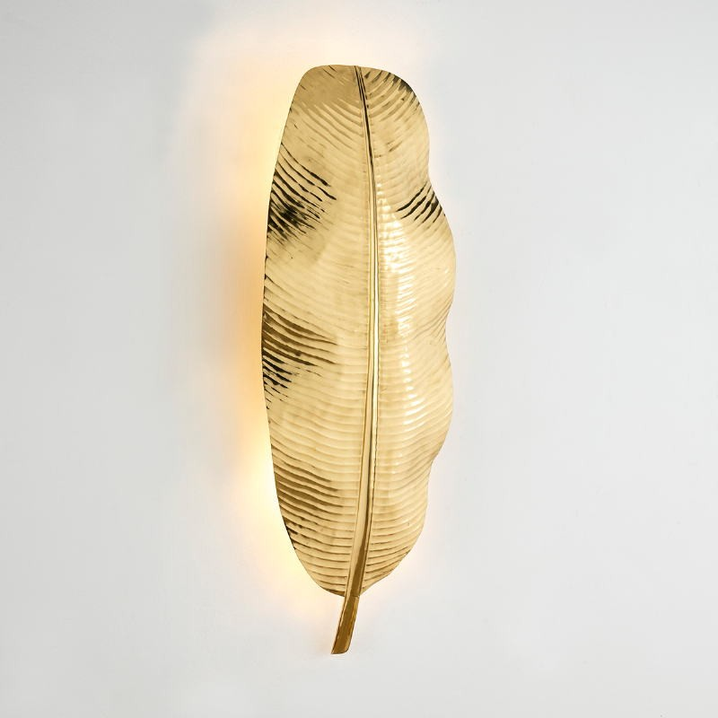 Wall Lamp 34X15X91 Metal Golden