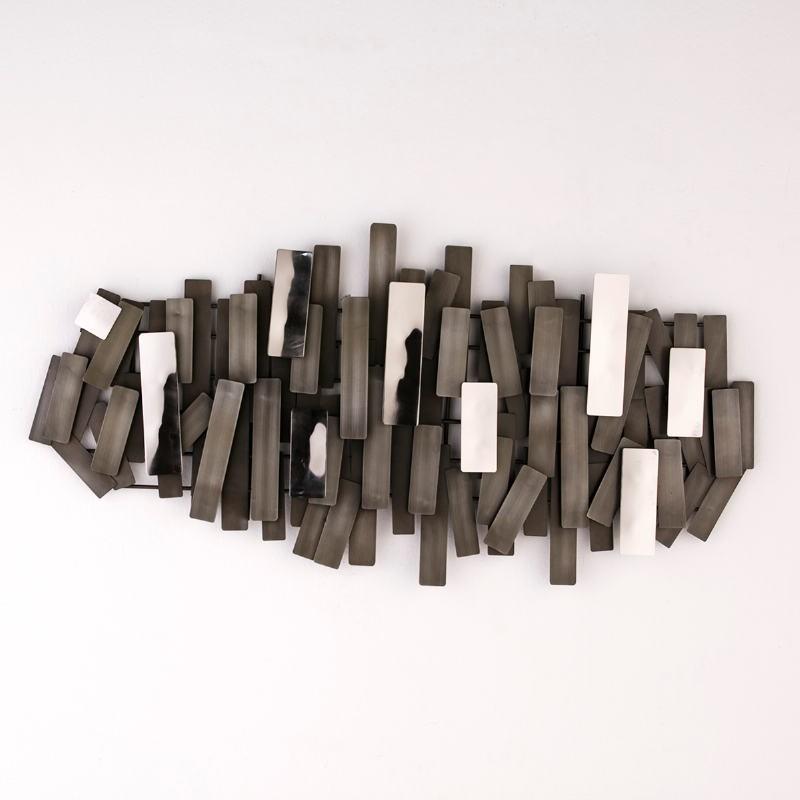 Skulptur 100X5X50 Metall Zink