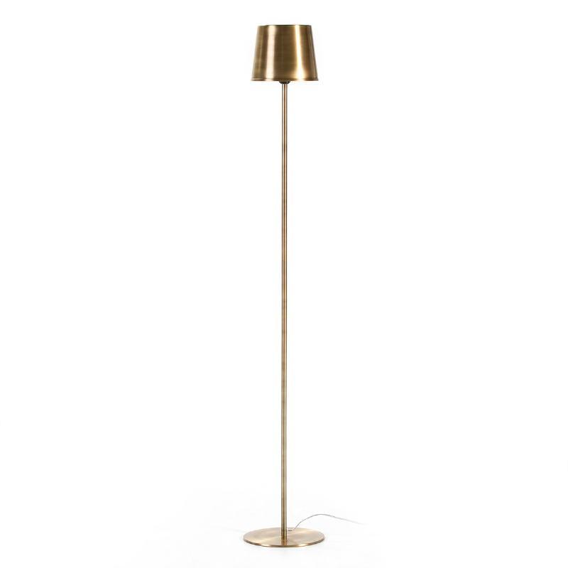 Lampada A Stelo 24X24X170 Metallo Dorato - image 53256