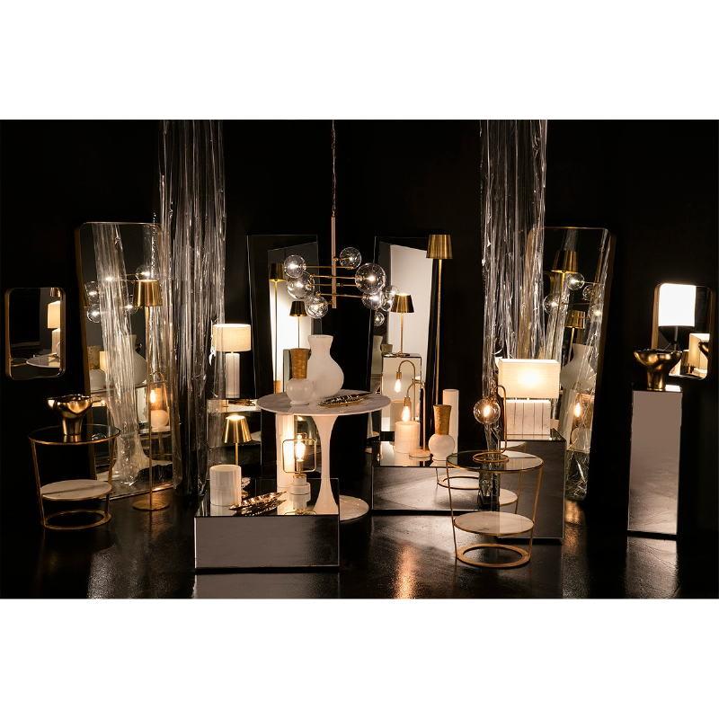 Standard Lamp 24X24X170 Metal Golden - image 53257