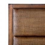Headboard 162X9X137 Rattan Wood Natural Veiled