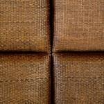 Kopfteil 162X9X137 Rattan Wood Brown