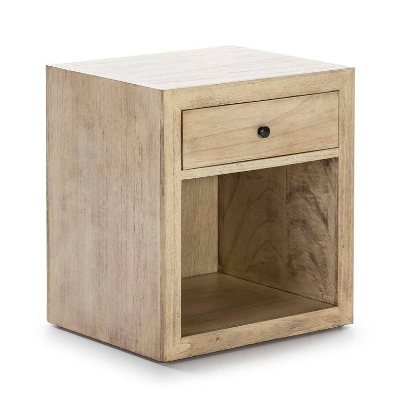 Table de chevet 50x40x55 Bois Naturel Modèle 2 - image 53340