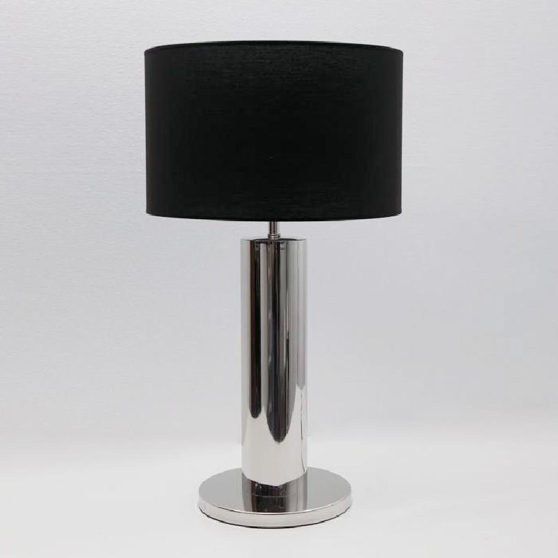 Lámpara De Sobremesa Sin Pantalla 25X49 Metal Cromo