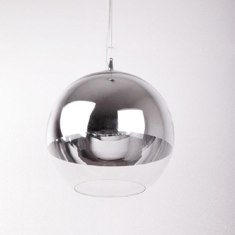 Lámpara Colgante 30X30X175 Cristal