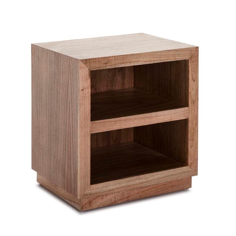 Bedside Table 50X40X55 Wood Natural Veiled Model 2 - image 53452