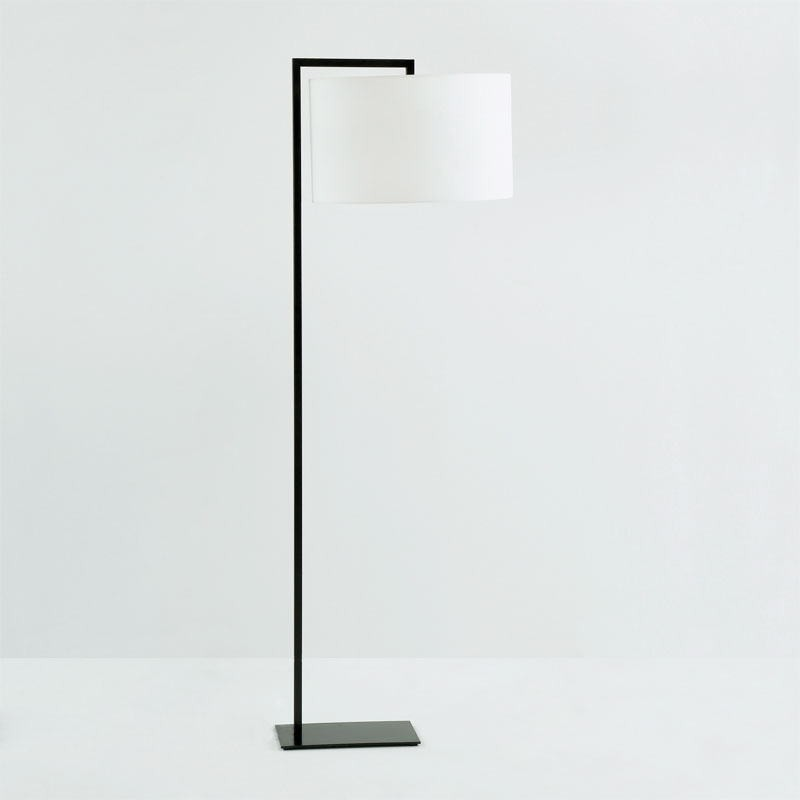 Lampadaire sans abat-jour 20x35x170 Métal Noir - image 53455