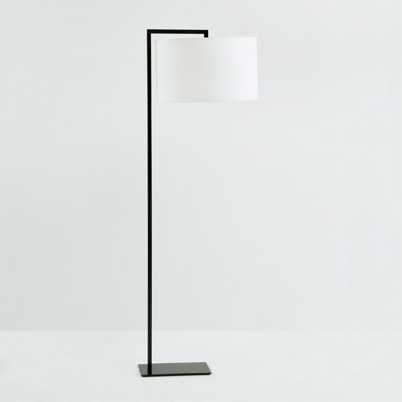 Lámpara De Pie Sin Pantalla 20X35X170 Metal Negro