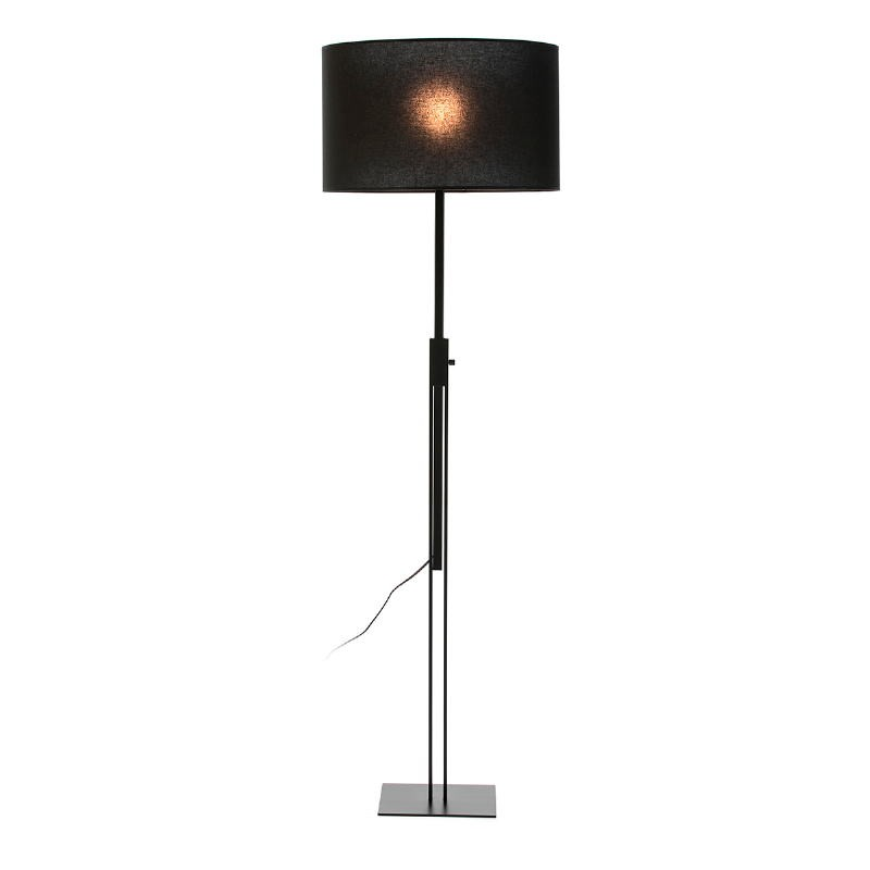 Standard Lamp Without Lampshade 25X25X100 200 Metal Black