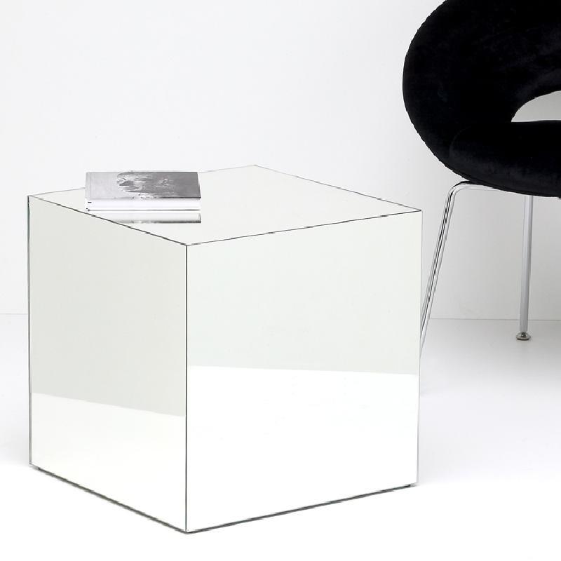Tavolo Ausiliare 45X45X45 Specchio