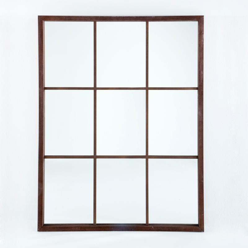 Specchio 100X4X132 Lacca Mdf Ruggine - image 53673