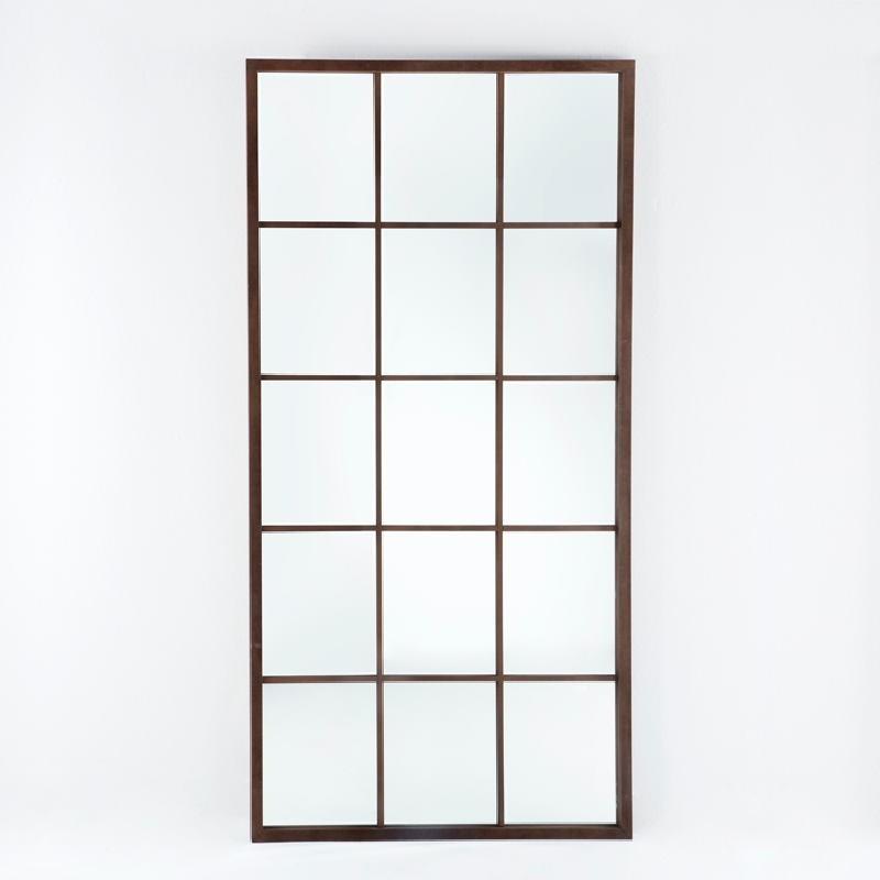 Specchio 100X4X200 Lacca Mdf Ruggine