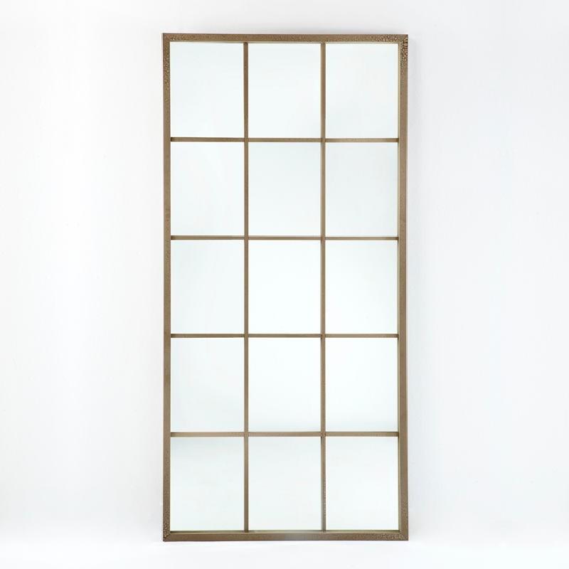 Specchio 100X4X200 Lacca Mdf Sabbia