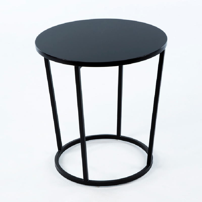 Auxiliary Table 50X50X54 Metal Mdf Black - image 53695