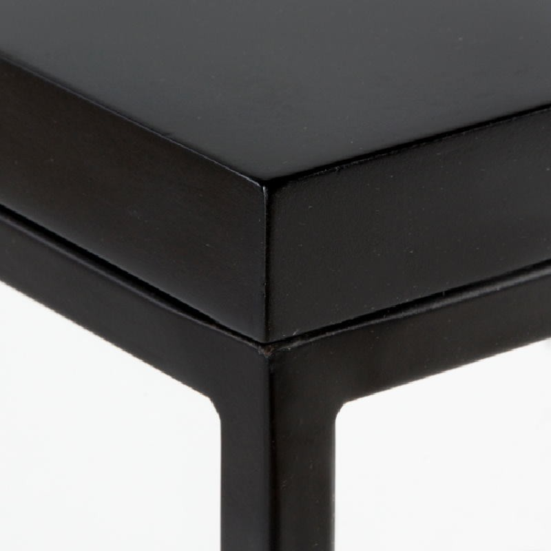 Auxiliary Table 48X48X70 Metal Mdf Black - image 53715